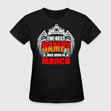 The Best Bampy was Born in January - Women's T-Shirt