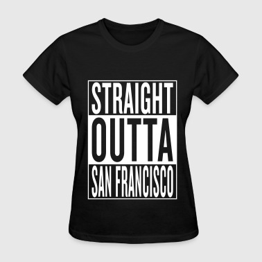 Hip-hop San Francisco - Women's T-Shirt