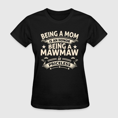Coolest Mawmaw BEING A MAWMAW - Women's T-Shirt