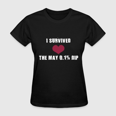 Trader's Shirt - I survided the May 0.1%Dip - Women's T-Shirt