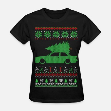 Christmas Ugly Sweater - Women's T-Shirt