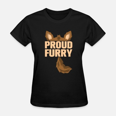 Furry Pride furry tshirt - Women's T-Shirt