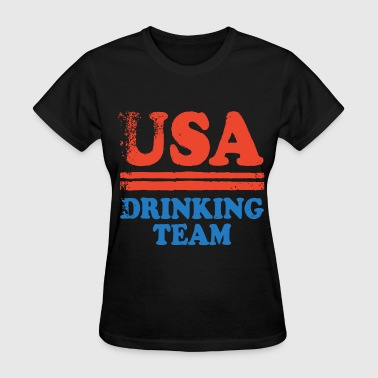 usa drinking team drink - Women's T-Shirt