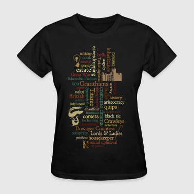 Word Mosaic - Women's T-Shirt