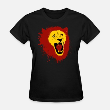 Artistic Lion Lion - Women's T-Shirt