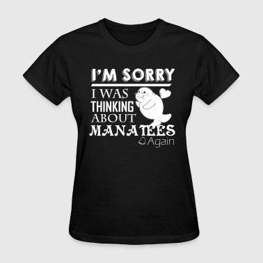 Thinking About Manatees - Women's T-Shirt