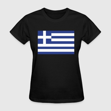 Greek Flag - Women's T-Shirt