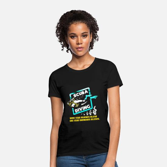 Scuba T-Shirts - Scuba Diving - Women's T-Shirt black
