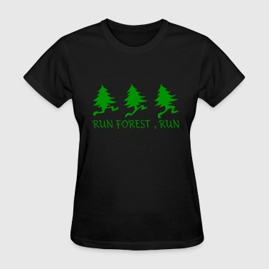 Run Forest Run - Women's T-Shirt