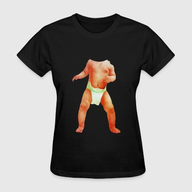 spoof 3D baby Body - Women's T-Shirt