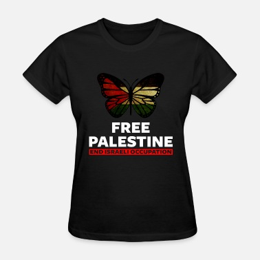 Free Palestine End Israeli Occupation Free Palestine end Israeli Occupation - Women's T-Shirt