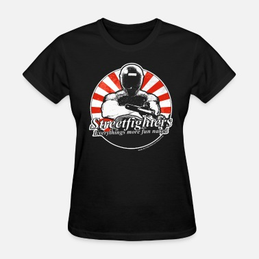 Streetfight Streetfighters - Women's T-Shirt