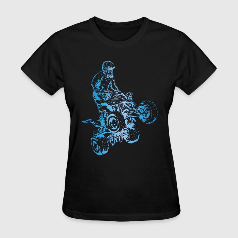 ATV Quad Yamaha Art - Women's T-Shirt
