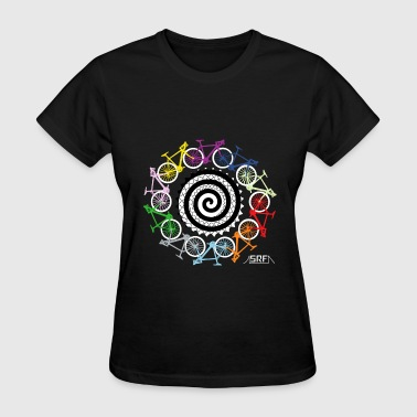 Cycling Bike hypnotic - Women's T-Shirt