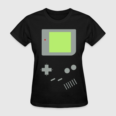Woman's Game Boy (Black) - Women's T-Shirt