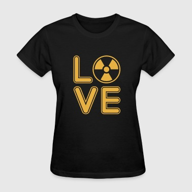 X-Ray T-Shirt - Love The X-Rays T-Shirt - Women's T-Shirt
