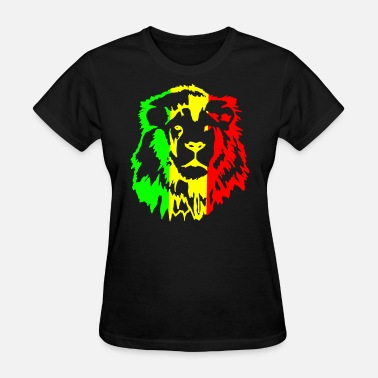 Dreadlock Lion Rasta lion - Women's T-Shirt