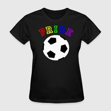 Football Pride Pride LGBT Football World CUp - Women's T-Shirt