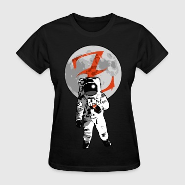 Graffiti Spaceman by CTRL+Z Clothing - Women's T-Shirt