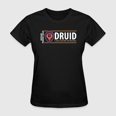 Amtgard Shield Series: Druid Balance - Women's T-Shirt