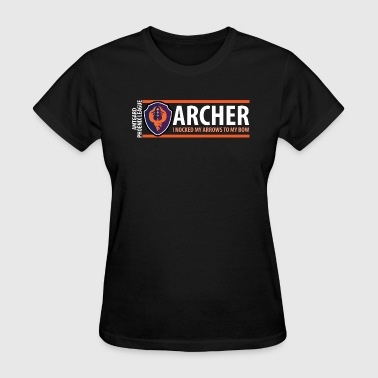 Amtgard Shield Series: Archer - Women's T-Shirt