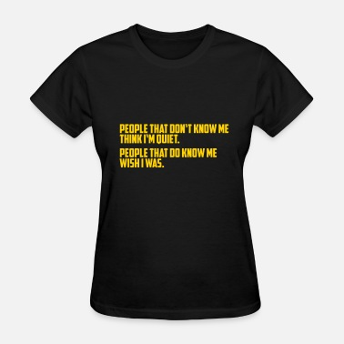Brain Teaser Funny, Brain Teasers, Presents, Quotes, Birthday - Women's T-Shirt