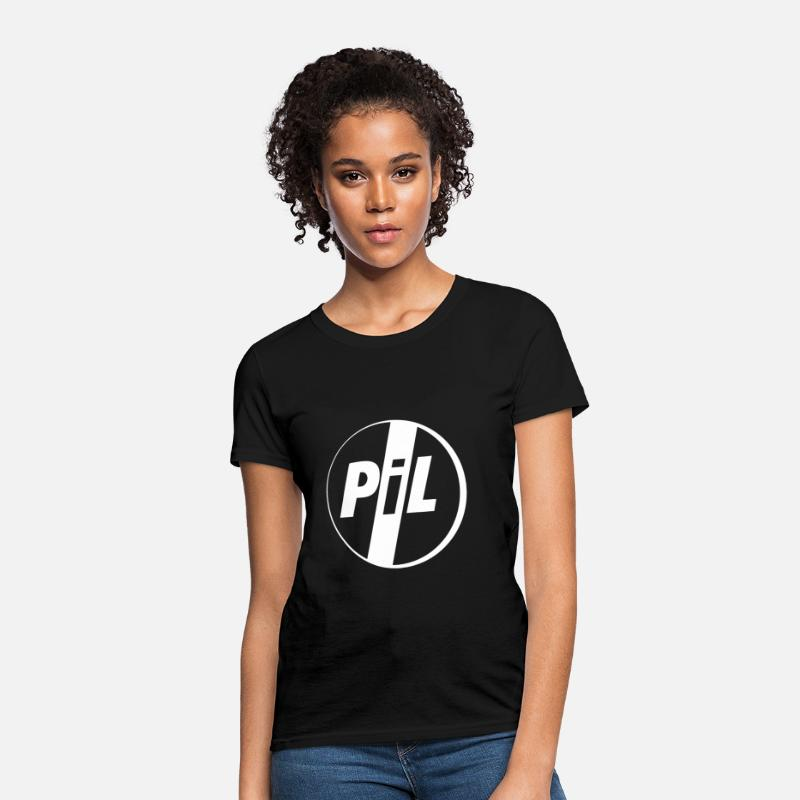 Pil T-Shirts - PIL Public Image Limited - Women's T-Shirt black