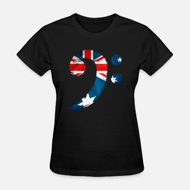 Bass Clef Bass Clef Australia for Bass Player - Women's T-Shirt