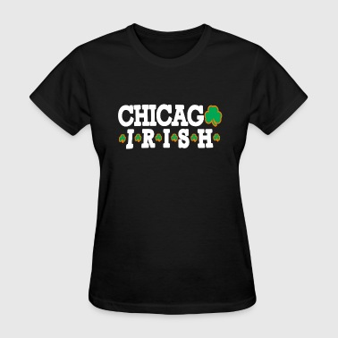 Chicago Irish Shamrock  - Women's T-Shirt