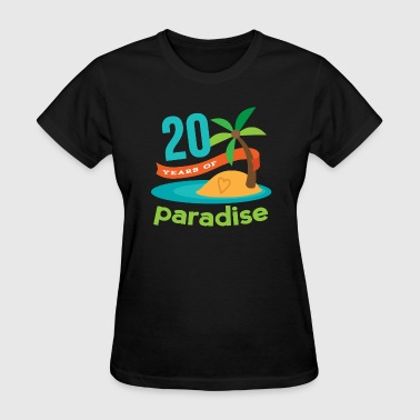 20th Anniversary 20 Years Hawaiian Party - Women's T-Shirt