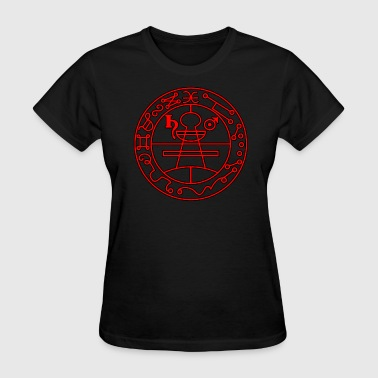 Seal of Solomon - Red - Women's T-Shirt