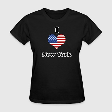I love New York - Women's T-Shirt