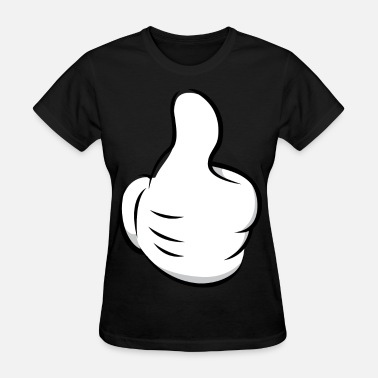 Mickey Hand Thumbs Up Thumbs Up - Women's T-Shirt