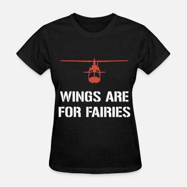 wings are for fairies patriotic t shirts - Women's T-Shirt