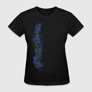 Techno Circuits - Women's T-Shirt