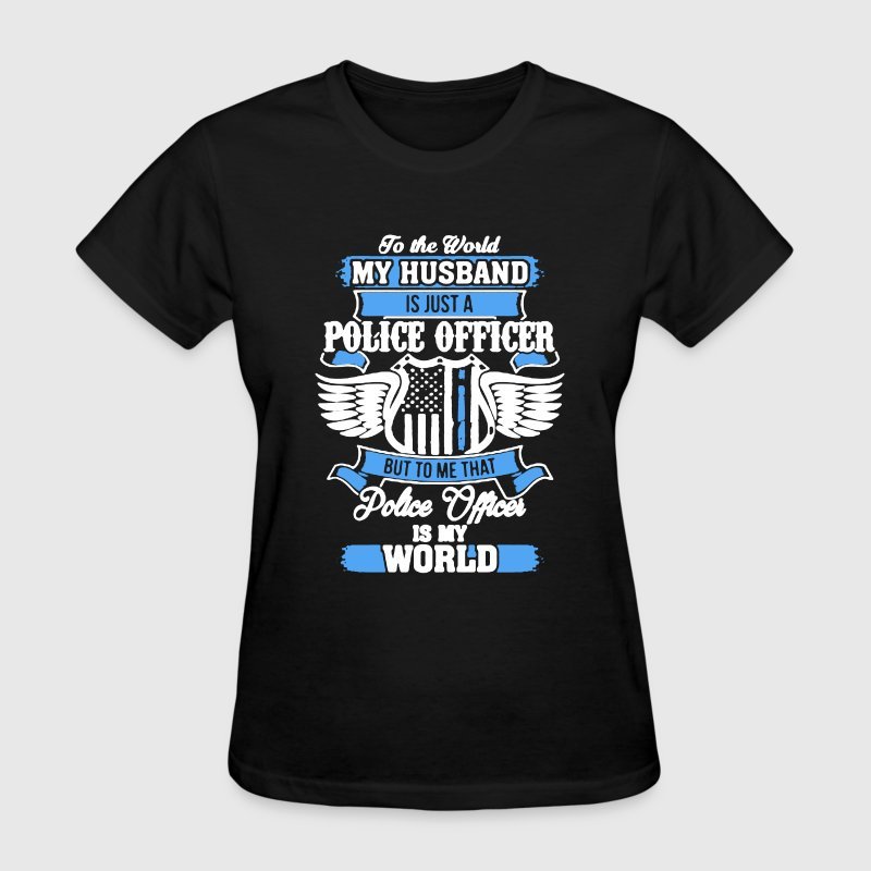 Police Officer Husband - Women's T-Shirt