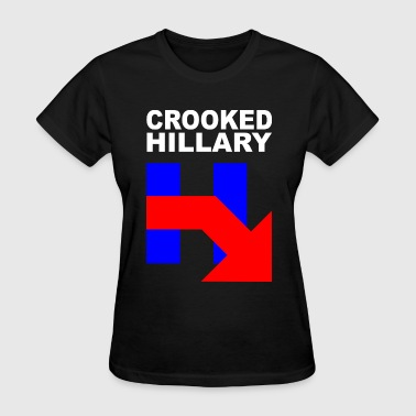 CROOKED HILLARY - Women's T-Shirt