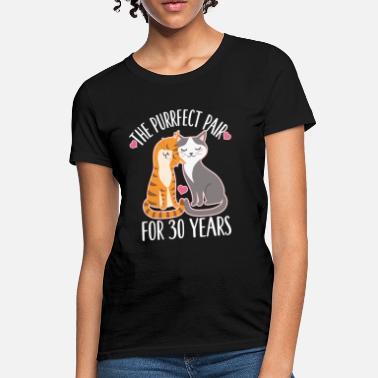 2fb0acea 30th Anniversary Cute Couples Gift - Women's T-Shirt
