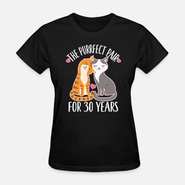 30th Anniversary Gift 30th Anniversary Cute Couples Gift - Women's T-Shirt
