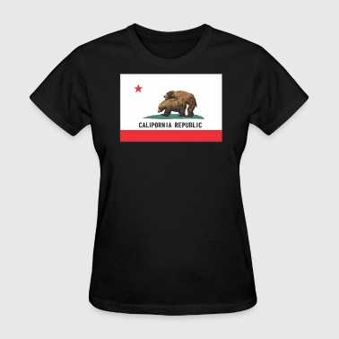 calipornia_flag - Women's T-Shirt