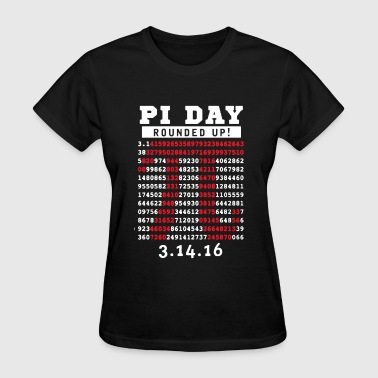 Pi Day Rounded Up - Women's T-Shirt