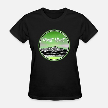 Colorado Mount Mount Elbert - Women's T-Shirt