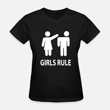 Girl Rules Girls rule - Women's T-Shirt