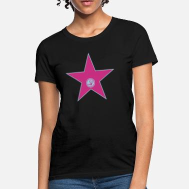 Famous your walk of fame + your name - Women's T-Shirt