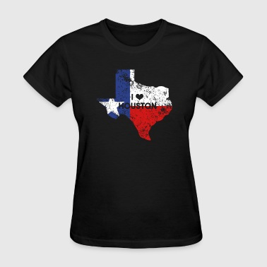 I love Houston - Women's T-Shirt