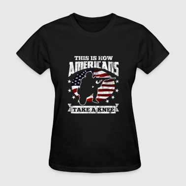 Veteran Day Clothing Shirt for veterans day - This is how we kneel - Women's T-Shirt