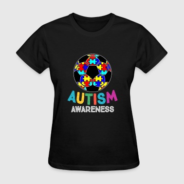 Soccer Granddaughter Autism Awareness Soccer - Women's T-Shirt