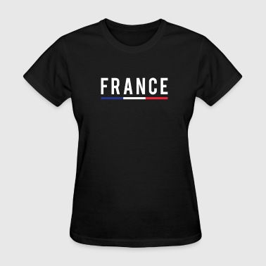 Football Pride France Soccer Football Jersey French Pride French - Women's T-Shirt
