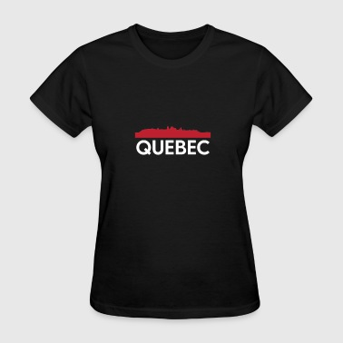 Quebec Skyline French Speaking Province Canada - Women's T-Shirt