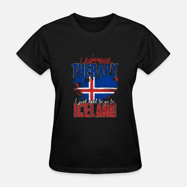 Iceland Therapy Iceland - Women's T-Shirt